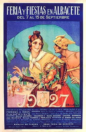 Cartel Feria Albacete 1927