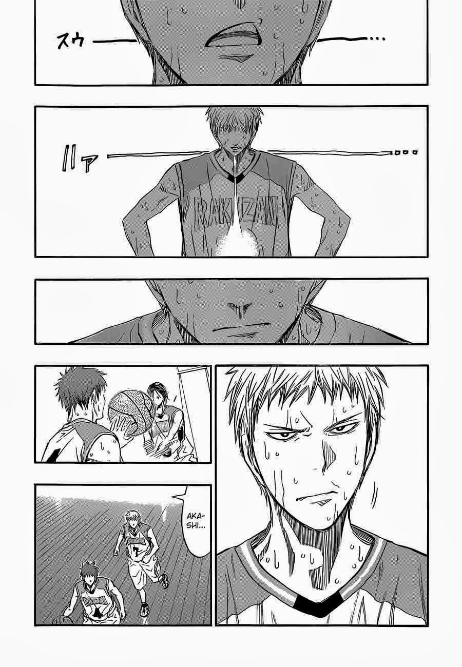 Kuroko no Basket Manga Chapter 255 - Image 04