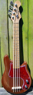 Mark Fletcher Butser Mountain Music Mando-Bass at Lardy's Ukulele Database