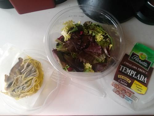 Ingredientes Ensalada Templada con Gulas Florette
