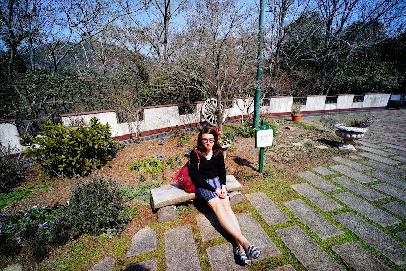 Rokko mountain herb garden