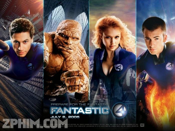 Ảnh trong phim Bộ Tứ Siêu Đẳng - Fantastic Four 1
