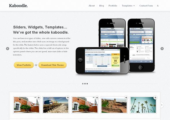 Kaboodle Flexible WordPress Theme