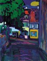 Kandinsky, Murnau, casas en el Obermarkt