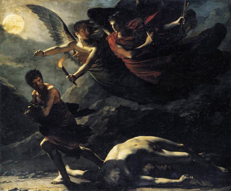 Pierre-Paul Prud'hon - Justice and Divine Vengeance Pursuing Crime