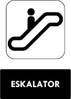 Rambu Eskalator