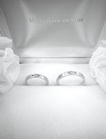 銀座オーダージュエリーサロンでマリッジリング(結婚指輪)を作りました。