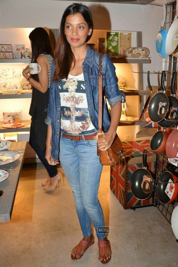 Mugdha Godse during the preview of Flower Power Collection, held at The White Window store, in Mumbai, on July 31, 2014. (Pic: Viral Bhayani)