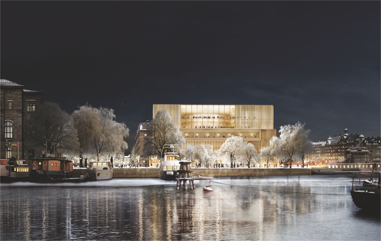 News: NOBELHUSET by DAVID CHIPPERFIELD ARCHITECTS