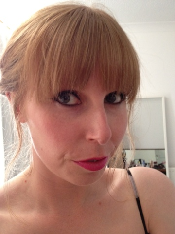 Avon True Colour lip crayon swatch