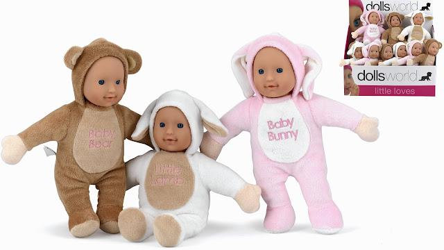 Búp bê bạn nhỏ Dolls World My little friend dành cho trẻ em từ 18 tháng tuổi trở lên