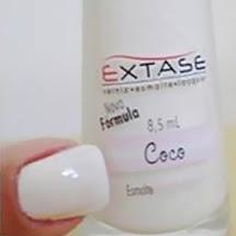 Esmalte Extase com cheiro de coco