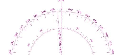 Hỏi cách tính độ lệch địa từ năm hàng hải  Image