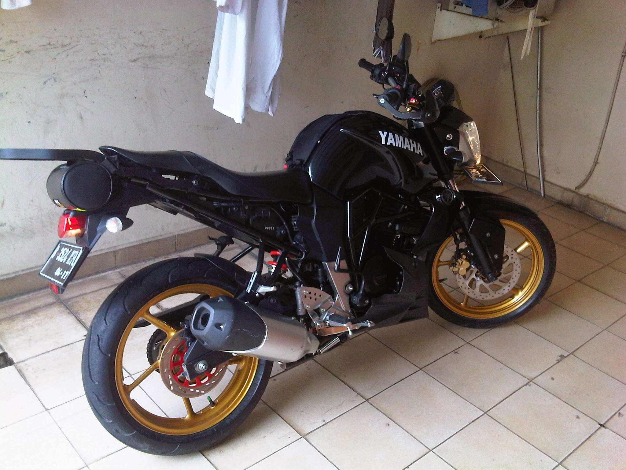 Modifikasi Byson Sport Touring