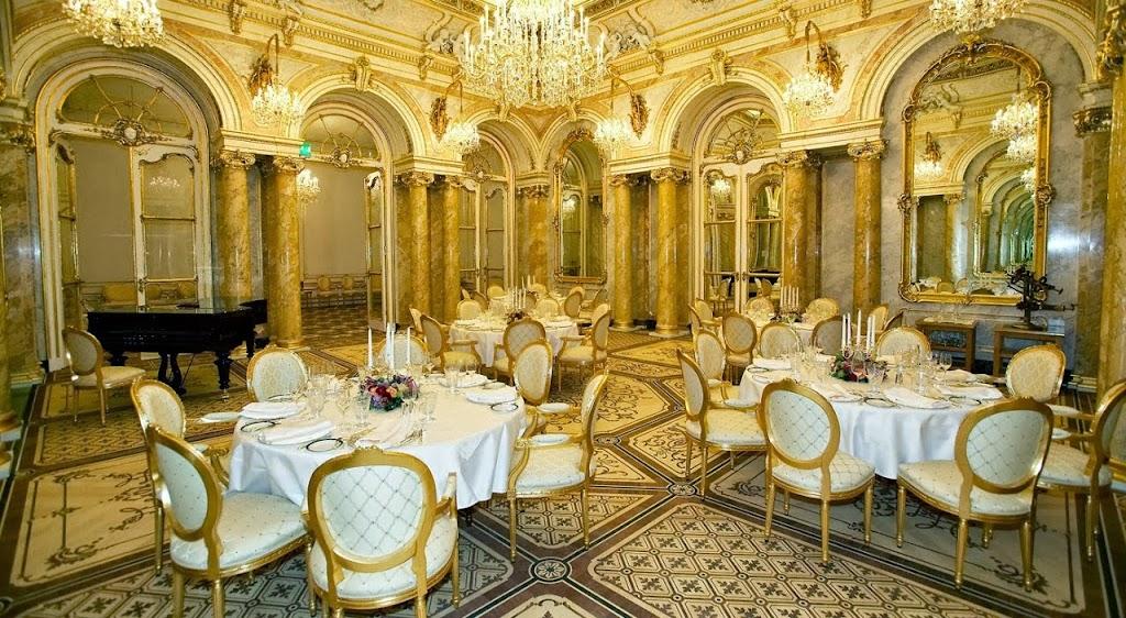 Фешенебельные, помпезные, торжественые, дорогие, праздничные рестораны в Вене, Австрия