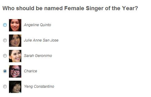 VOTE: Yahoo! Philippines OMG! Awards 2012 - Female Singer of the Year and Fan Club of the Year 1