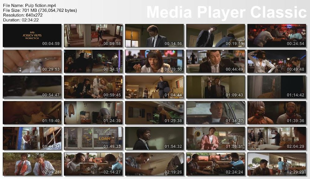 Pulp Fiction Screenshot