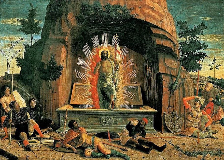 Andrea Mantegna - The Resurrection