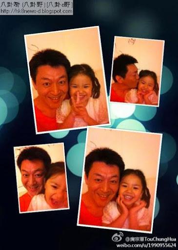 庹宗華非常疼愛女兒。(圖/截自庹宗華微博)