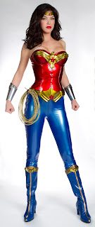 Adrianne Palicki in Wonder Woman costume
