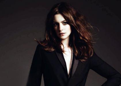 Anne Hathaway: Gotham Cover Girl:news,girl0