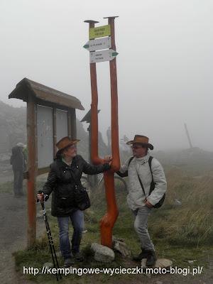 zdjęcie na szczycie Śnieżnika