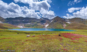 One of the Most Beautiful lakes of Pakistan, Dudipatsir Lake Naran..