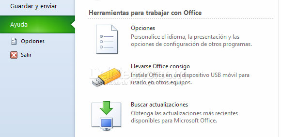 Microsoft Office Starter 2010 Portable