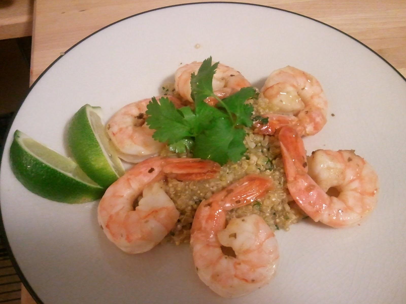 Engineer and an Oven: Tom Yum Quinoa and Lemongrass Shrimp