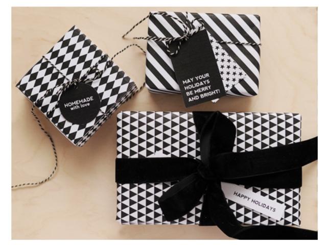 Geschenkpapier zum herunterladen – auf die Verpackung kommt es an