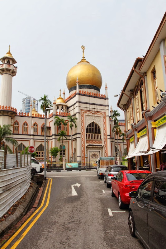 Sultan's Mosque next to Arab Street, Singapore