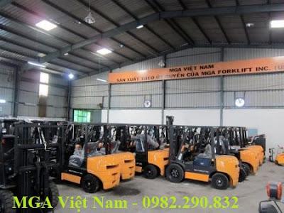 Xe nâng MGA Việt Nam