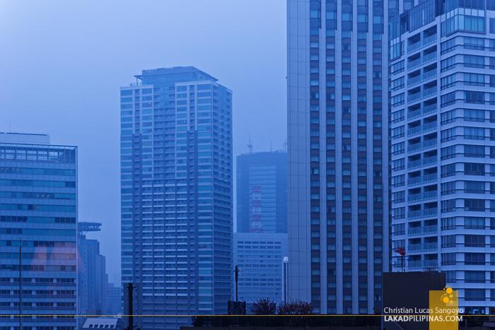 Gray Rainy Tokyo Morning