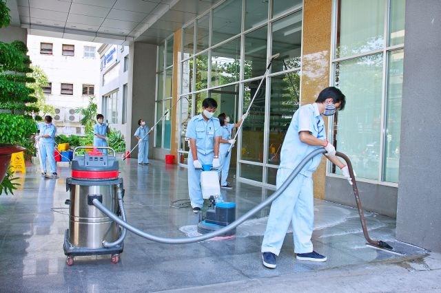 Đơn hàng bảo trì tòa nhà cần 9 nam làm việc tại Aichi Nhật Bản tháng 05/2017