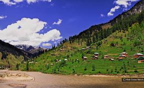Stunning Neelum Valley, Azad Kashmir, Pakistan.
