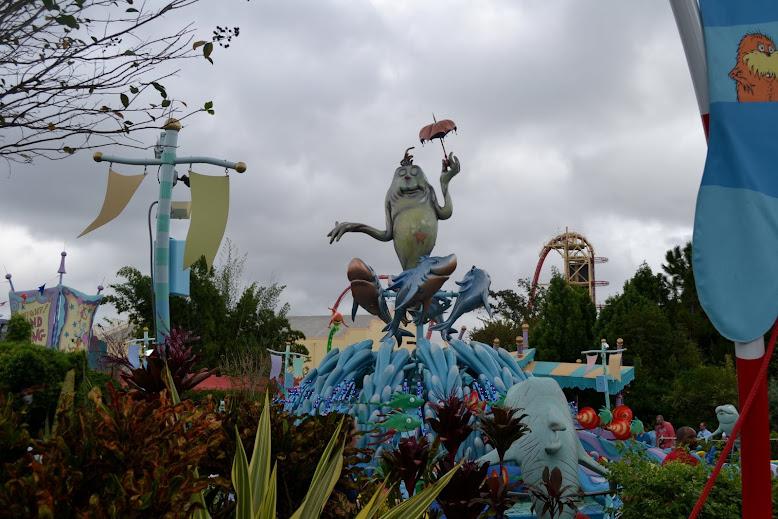 """Развлекательный парк """"Острова Приключений"""" студии Юниверсал.  (Universal Studio. Islands of Adventure)"""