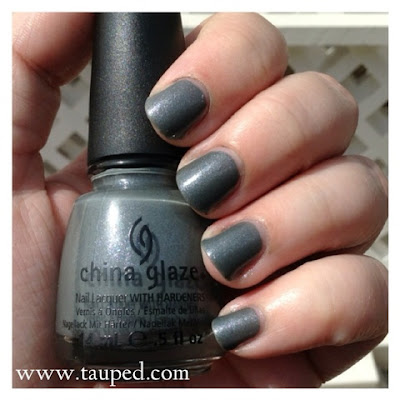 china glaze immortal nail polish swatch review