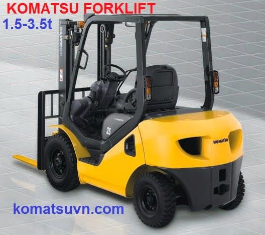 xe nang diesel Komatsu