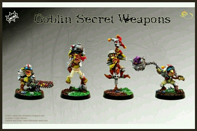 Goblins armas secretas Blood Bowl Willy