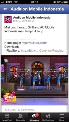Club AU Mobile Indonesia Terbaik: LegenDancery★ ID 694