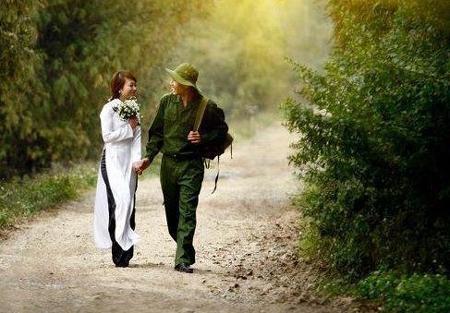 Tải ảnh tình yêu người lính