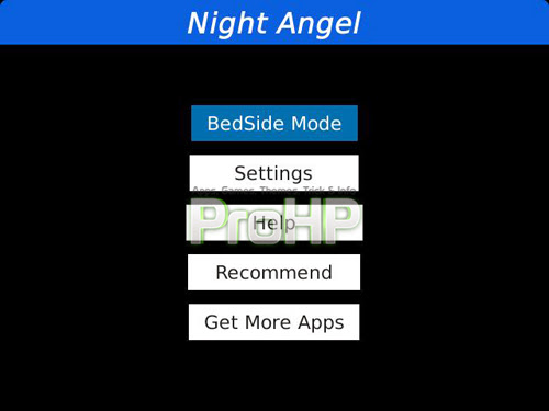 Night Angel - Bed Side Mode v1.0 Preview 2