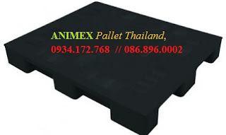 Pallet nhựa Medium lưu kho nhập khẩu