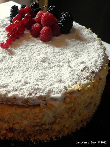 Ricetta torta millefoglie montersino