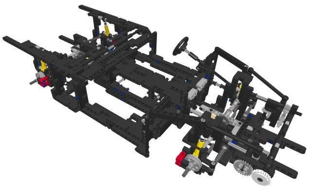 lego technic suspension instructions