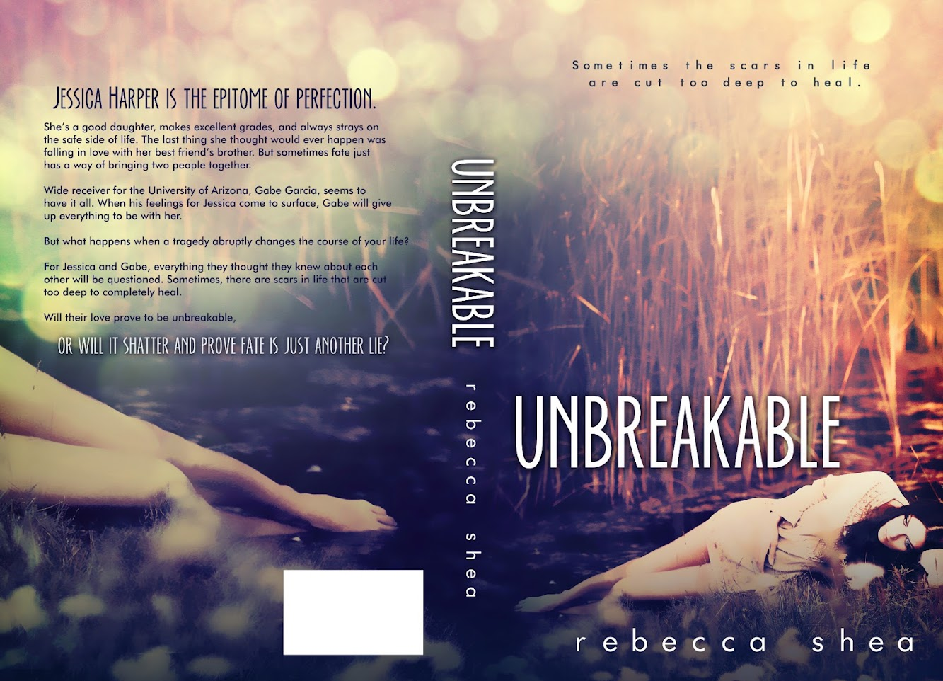 Cover Reveal: UNBREAKABLE by Rebecca Shea