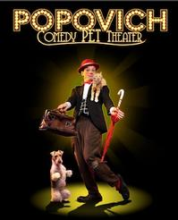 Popovich Pet Comedy Theater — Trains Shelter Animals for Their Show