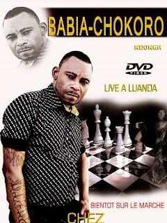 L'affiche d'un DVD de concert live de Babia Ndonga à Luanda (Angola).