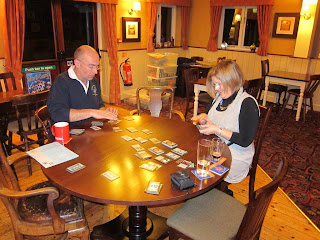 Playing Dominion in the Blue Anchor