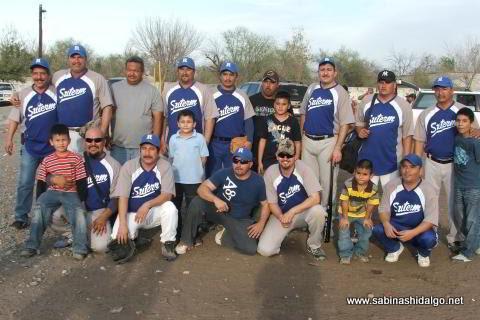 Equipo SUTERM del softbol del Club Sertoma